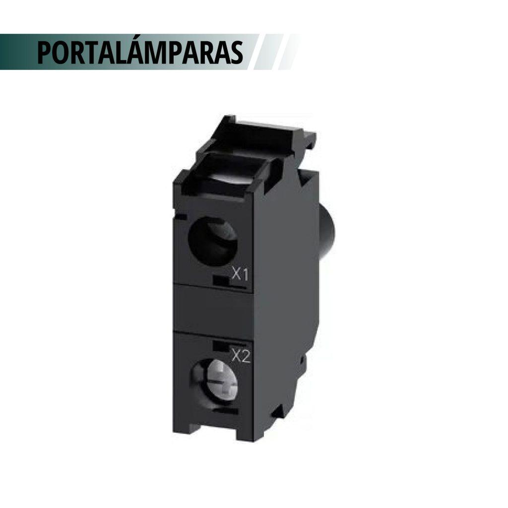 PORTALAMPARAS ACT CON LED 24VCA/CC